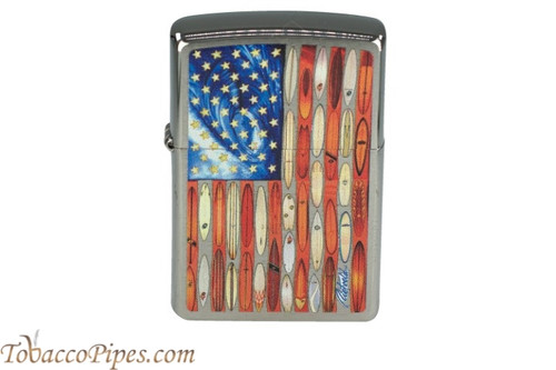 Zippo Patriotic Rick Rietveld Flag Lighter