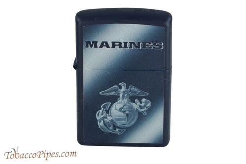 Zippo US Military Marines Matte Blue Lighter