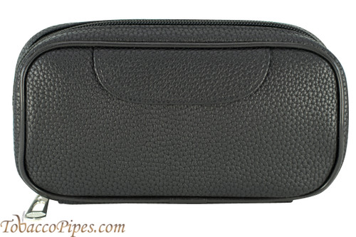 Cobblestone Black 2 Pipe Pouch