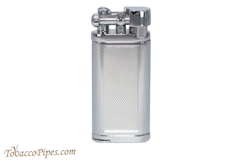 Cobblestone Classic Etched Silver Lighter