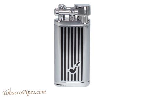Cobblestone Classic Two Tone Pipe Logo Lighter