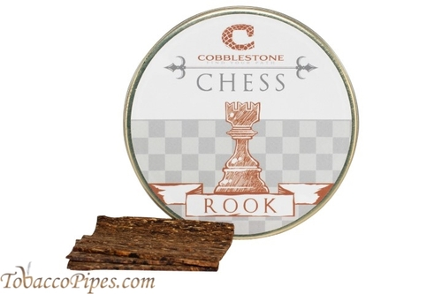 Cobblestone Chess Rook Pipe Tobacco