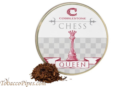 Cobblestone Chess Queen Pipe Tobacco