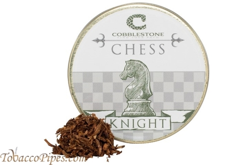 Cobblestone Chess Knight Pipe Tobacco