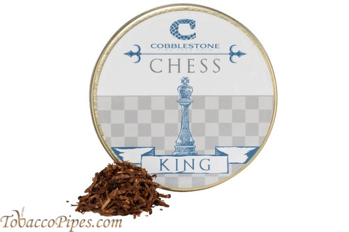 Cobblestone Chess King Pipe Tobacco