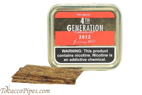 4th Generation 2012 Pipe Tobacco