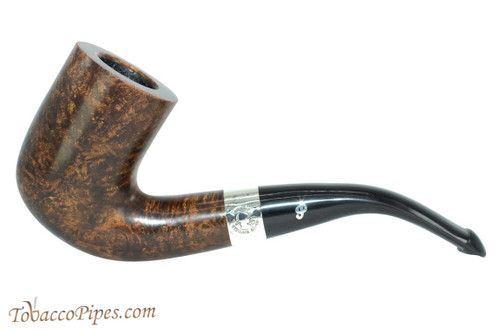 Peterson Sherlock Holmes Rathbone Dark Smooth Tobacco Pipe PLIP