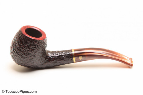 Savinelli Roma Rustic 626 Lucite Stem Tobacco Pipe Left Side