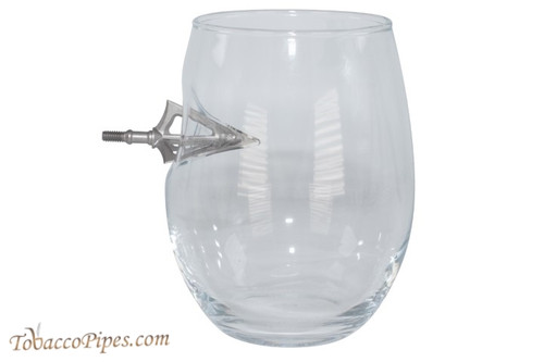 BenShot Broadhead Wine Glass 15 oz
