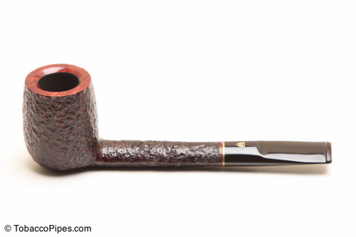 Savinelli Roma 806 Black Stem Tobacco Pipe Left Side