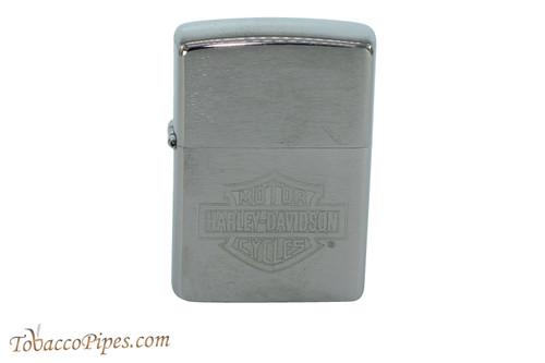 Zippo Harley Davidson Street Chrome Logo Lighter