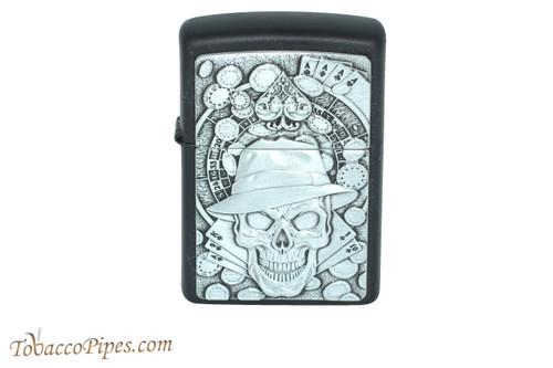 Zippo Skull Gambler Lighter