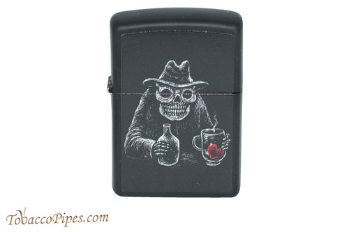 Zippo Skull at the Bar Lighter