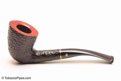 Savinelli Roma 920 KS Black Stem Tobacco Pipe Left Side