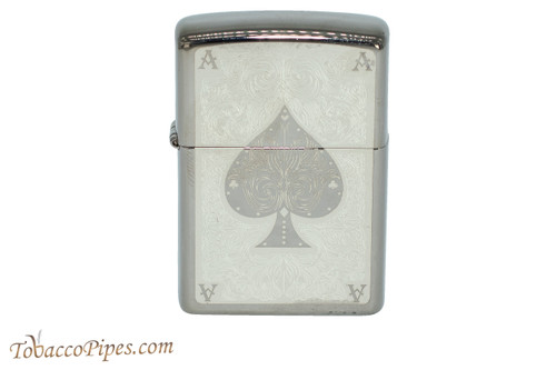 Zippo Luck Ace Filigree Lighter