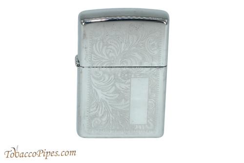 Zippo Venetian High Polish Chrome Lighter