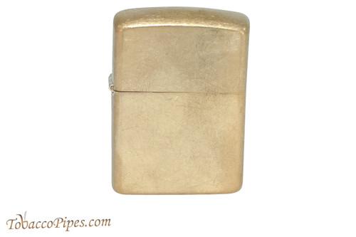 Zippo Classic Armor Tumbled Brass Lighter