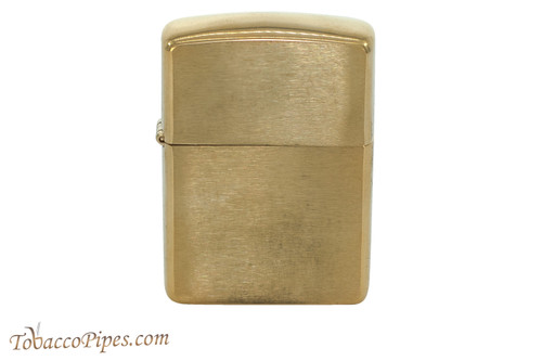 Zippo Classic Armor Brushed Brass Lighter