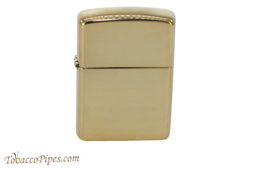 Zippo Classic Armor Polished Brass Lighter