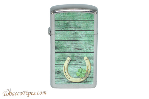 Zippo Luck Slim Horseshoe Lighter