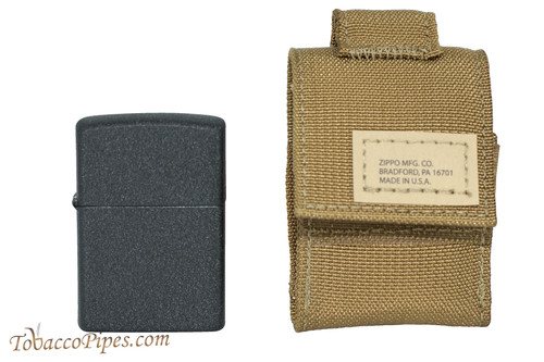 Zippo Coyote Tactical Pouch and Lighter Set