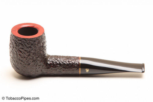 Savinelli Roma 101 Black Stem Tobacco Pipe Left Side