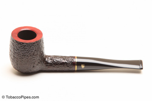 Savinelli Roma 106 Black Stem Tobacco Pipe Left Side