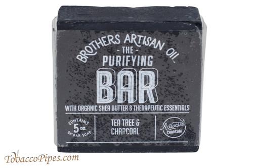 Brothers Artisan Oil Tea Tree & Charcoal Soap Bar