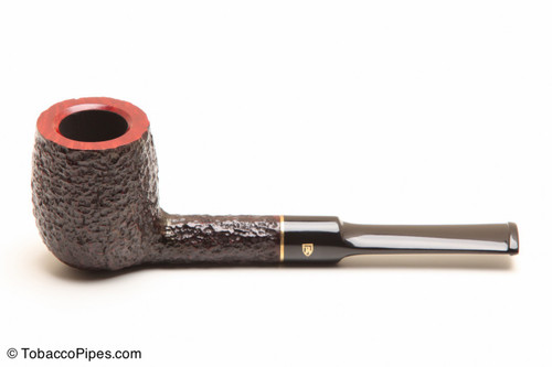 Savinelli Roma 127 Black Stem Tobacco Pipe Left Side