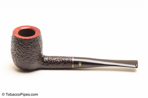 Savinelli Roma 128 Black Stem Tobacco Pipe Left Side
