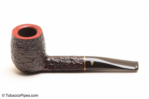Savinelli Roma 129 Black Stem Tobacco Pipe Left Side