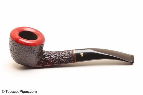 Savinelli Roma 305 Black Stem Tobacco Pipe Left Side