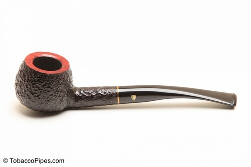 Savinelli Roma 313 Black Stem Tobacco Pipe Left Side