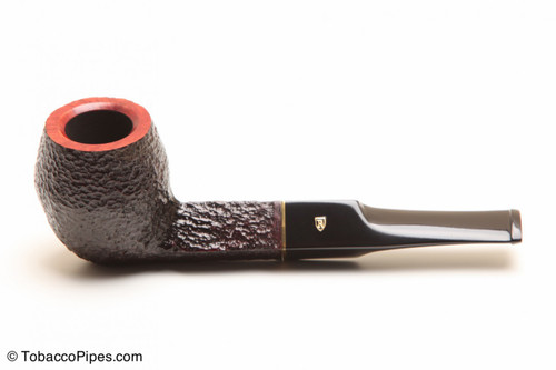Savinelli Roma 504 Black Stem Tobacco Pipe Left Side
