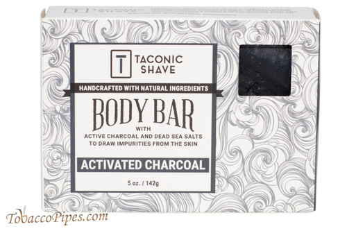 Taconic Shave Activated Charcoal Body Bar