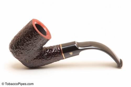 Savinelli Roma 620 Black Stem Tobacco Pipe Left Side