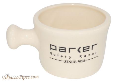 Parker Stoneware Apothecary Ivory Shave Mug