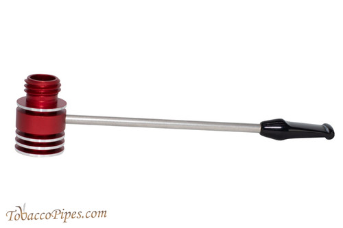 Radiator Pipes Long Straight Tobacco Pipe Frame Polished Red