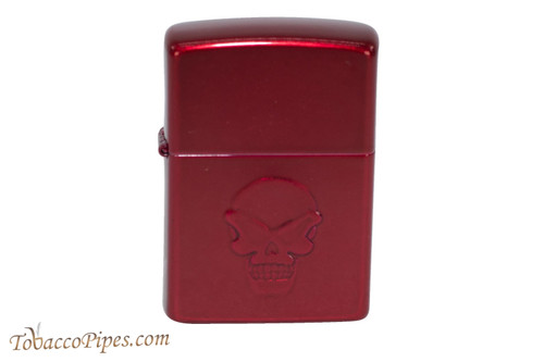 Zippo Skull Red Apple Doom Lighter
