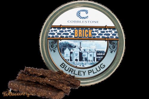 Cobblestone Brick Burley Plug Pipe Tobacco