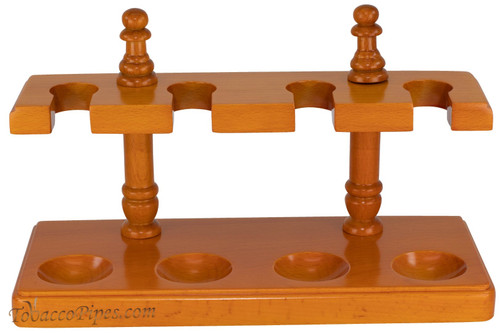Cobblestone Amber Easy Rest 4 Pipe Stand