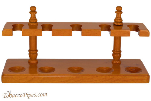 Cobblestone Amber Easy Rest 5 Pipe Stand