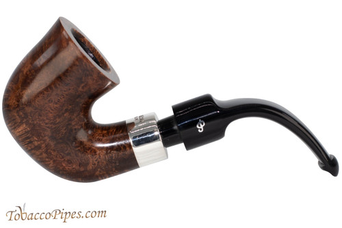 Peterson Deluxe System 5s Dark Smooth Tobacco Pipe PLIP