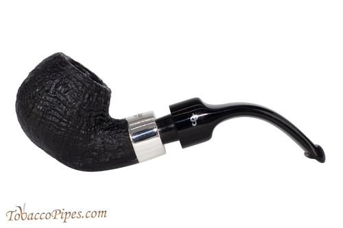 Peterson Deluxe System 3s Sandblast Tobacco Pipe PLIP