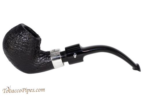 Peterson Deluxe System 2s Sandblast Tobacco Pipe PLIP