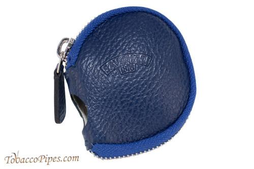 Savinelli Leather Pipe Sleeve Royal Blue