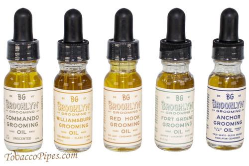 Brooklyn Grooming Oil Sampler Kit