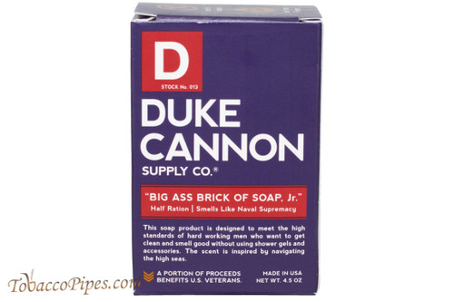 Duke Cannon Jr WWII Naval Supremacy Big Ass Brick Of Soap