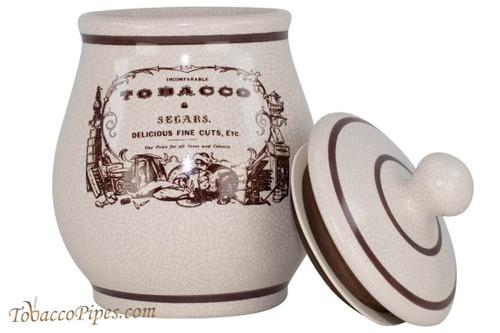 Savinelli Medium Segar Ceramic Tobacco Jar