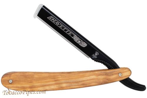 Dovo 201071 Olive Wood Shavette Straight Razor
